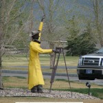 Surveyor Statue - Montana
